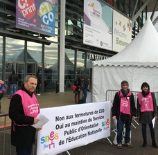 Mobilisation des Psychologues de l'Education Nationale lors du Mondial (...)